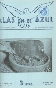 Circular Informativa / Alas en el Azul. (1954)