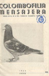 Colombofilia Mensajera. (1954)