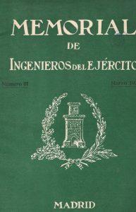 Memorial de Ingenieros del Ejército. (1935)