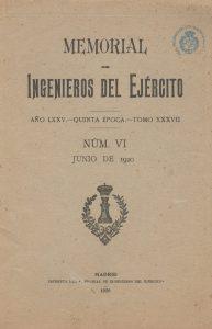 Memorial de Ingenieros del Ejército. (1920)